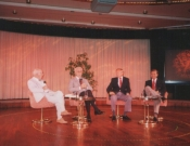 George Simon, Paul Tanner, Larry O'Brien, Chip Hoehler, 1991