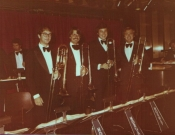 S.S. Norway Trombone Section, 1981